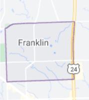 Map of Franklin Village, Michigan, limits