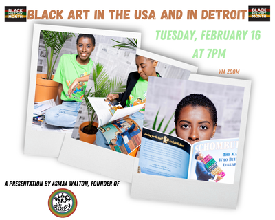 Black Art in the USA and in Detroit