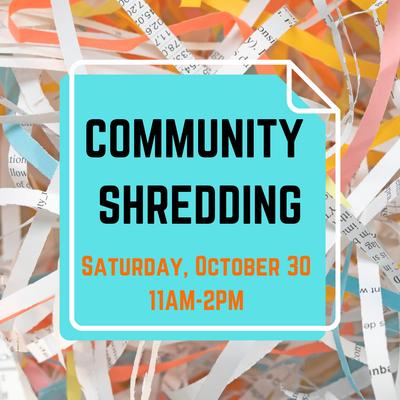 Community Shredding