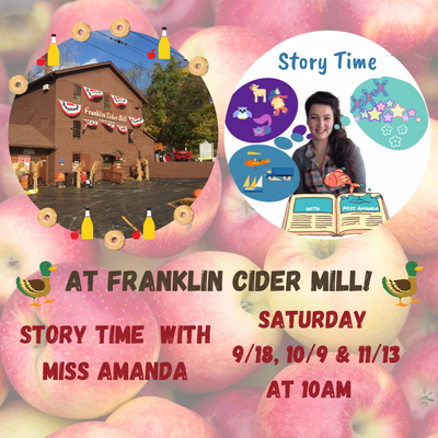 Fall Story Time at the Cider Mill
