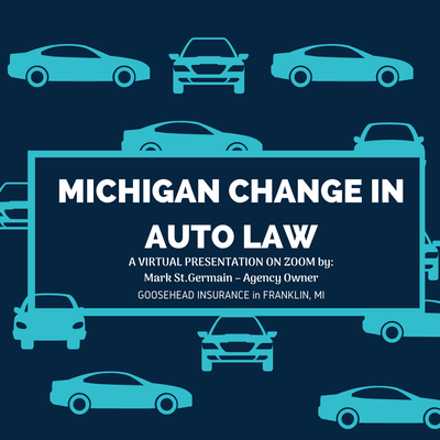 Michigan Change in Auto Law