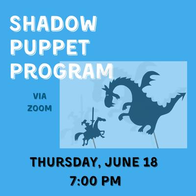 Shadow Puppet Kids Program - Click to register