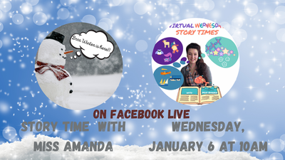 Virtual Wednesday Story Time