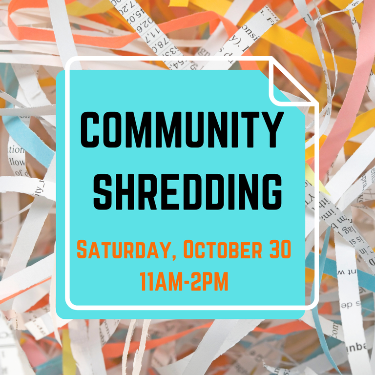 Village Blurb  Community Shredding 10.30.21.png