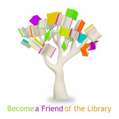 Tree of multicolored books