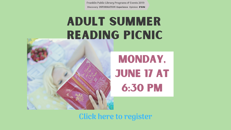 Summer Reading Kickoff Picnic