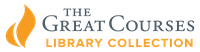 Orange and blue logo of The Great Course learning and personal enrichment streaming courses