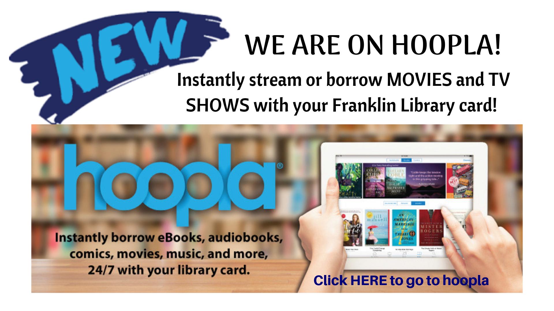 Carousel — Franklin Public Library