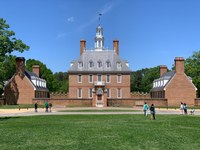Brick manor, Colonial Williamsburg Museum